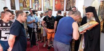 Activităţi la Penitenciarul Galaţi ocazionate de sărbătoarea Sfinţilor Apostoli Petru şi Pavel