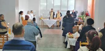 """Zi de sărbătoare şi la Cantina """"Sfântul Cuvios Casian"""" din Brăila"""