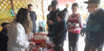 Activitate medicală în parohii sărace