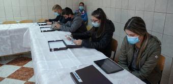 """Centrul social """"Sfânta Filofteia"""" din Brăila sprijină familiile cu mulţi copii"""