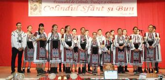 """Prima ediție a Festivalului de colinde, tradiții și obiceiuri străbune """"Colindul sfânt și bun"""""""