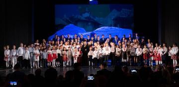 Concert dedicat Sfântului Apostol Andrei și satului românesc la Galaţi