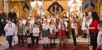 """""""Bucuria de a dărui"""" - Concert de colinde la parohia """"Sfântul Mina"""" din Galați"""