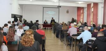 Cercetătorul Mirel Bănică a conferenţiat la Galaţi