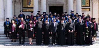 Cursul festiv al studenţilor şi masteranzilor teologi gălăţeni şi început de pelerinaj pentru studenţii din cadrul Universităţii Vârstei a Treia din Galaţi