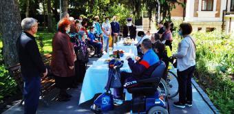 Activitate filantropică în Duminica vindecării slăbănogului de la Vitezda
