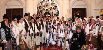 """Festivalul de datini şi obiceiuri la Naşterea Domnului şi Anul Nou """"Tudor Pamfile"""", la Galaţi"""