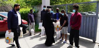 Activitate filantropică la Centrul regional de cazare şi proceduri pentru solicitanţii de azil din Galaţi