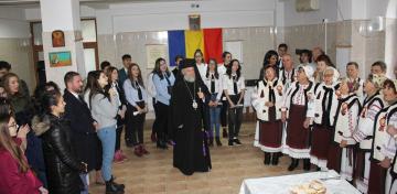"""Parohia """"Sf. Stelian"""" din Galaţi şi-a serbat ocrotitorul spiritual prin deosebite activităţi culturale şi social-filantropice la Centrul """"Speranţe pentru vârsta a III-a"""""""