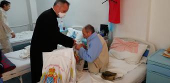 """Hramul capelei """"Sfântul Ierarh Spiridon"""" din cadrul Spitalui de Pneumoftiziologie Galați"""