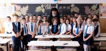 """Festivitatea de deschidere a noului an şcolar la Seminarul Teologic """"Sfântul Apostol Andrei"""" din Galaţi"""