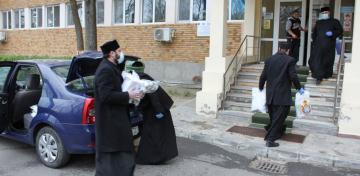 Arhiepiscopia Dunării de Jos continuă campania de sprijinire a spitalelor