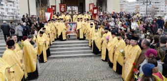 Pelerinajul de Florii în Arhiepiscopia Dunării de Jos