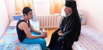 """Capela Spitalului de copii """"Sfântul Ioan"""" din Galaţi şi-a sărbătorit cel de-al doilea ocrotitor spiritual"""