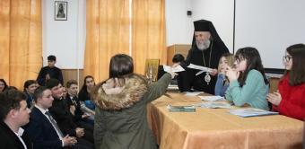 """Simpozion interliceal la Seminarul Teologic Ortodox """"Sfântul Apostol Andrei"""" din Galaţi"""