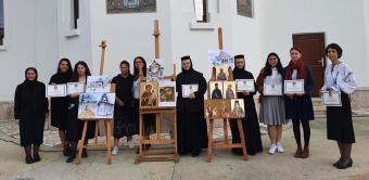 Stagiu de formare pentru studenții gălățeni la Mănăstirea Tudor Vladimirescu