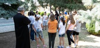 Programul eparhial de tabere pentru tineri continuă în Eparhia Dunării de Jos