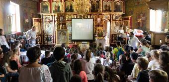180 de tineri au participat la Tabăra de vară din localitatea Bereşti-Târg, judeţul Galaţi