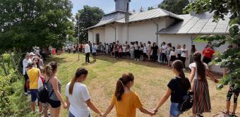 Tabără de vară în parohia Bereşti Târg din judeţul Galaţi