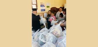 Activităţi social-filantropice de Ziua Copilului la Tecuci