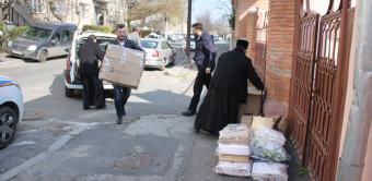 Arhiepiscopia Dunării de Jos continuă ajutorarea celor aflaţi în carantină în judeţele Galaţi şi Brăila