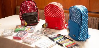 Solidaritate cu părinţii şi elevii cu situaţie materială precară la începerea noului an şcolar